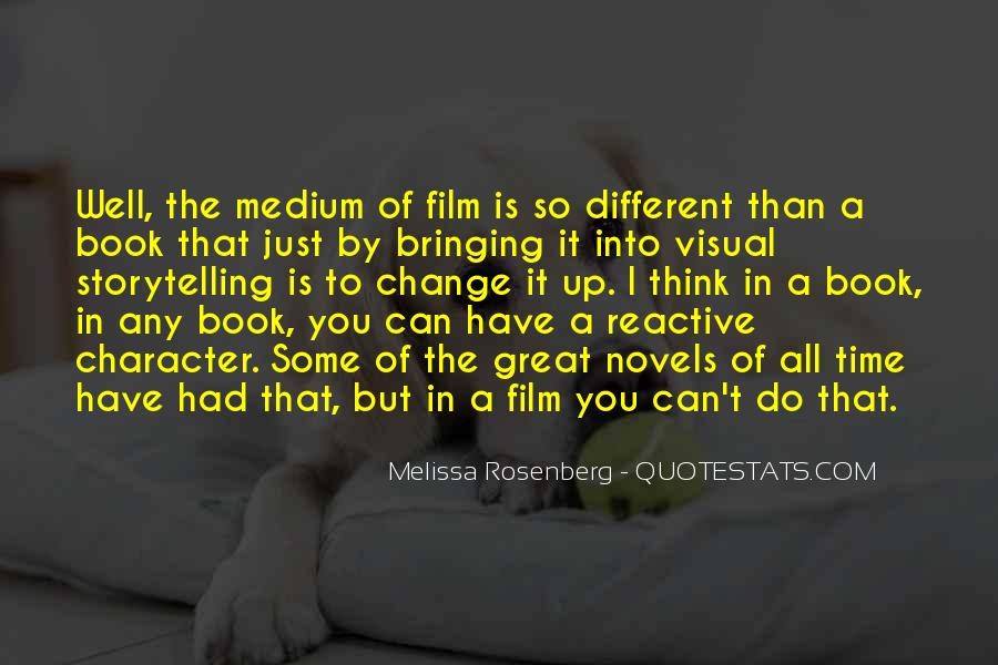 Quotes About Great Novels #1859053