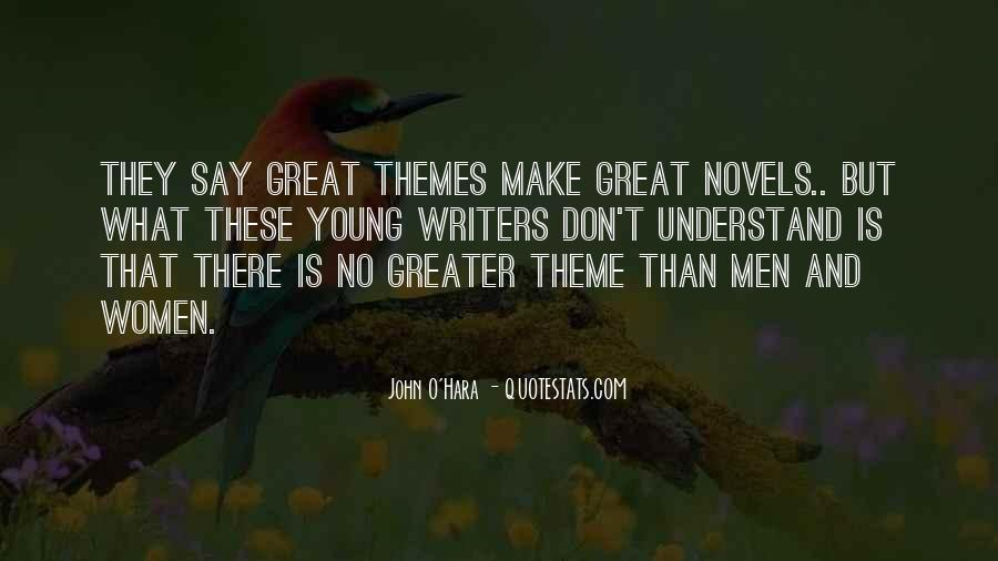 Quotes About Great Novels #321984
