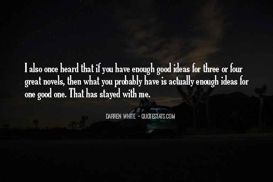 Quotes About Great Novels #385584