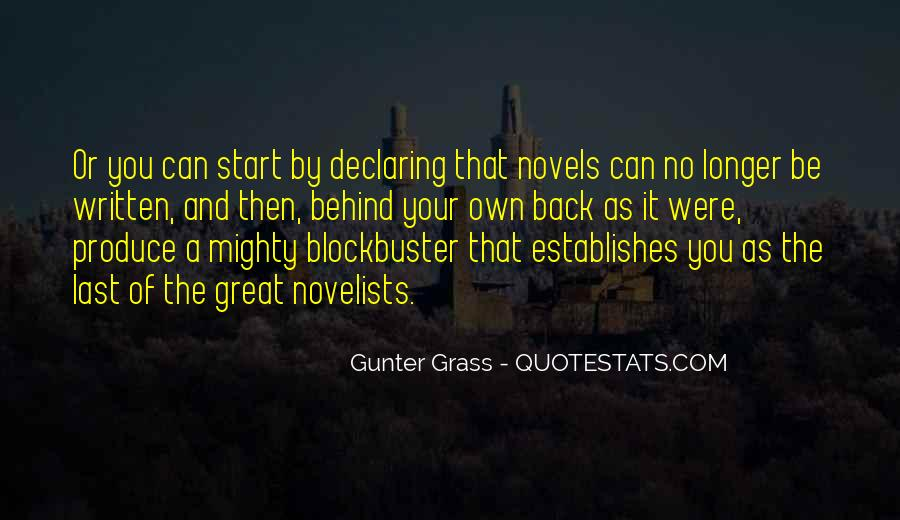 Quotes About Great Novels #697271