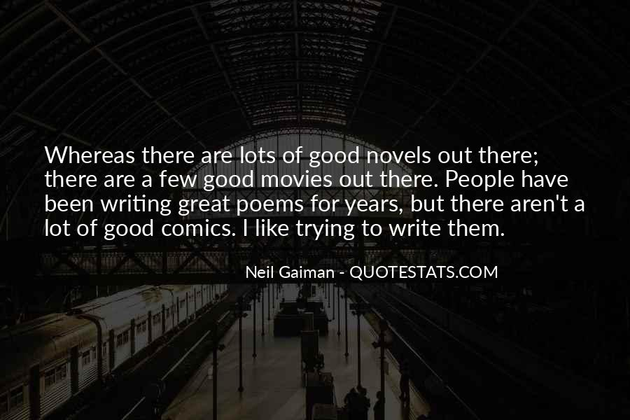 Quotes About Great Novels #710990