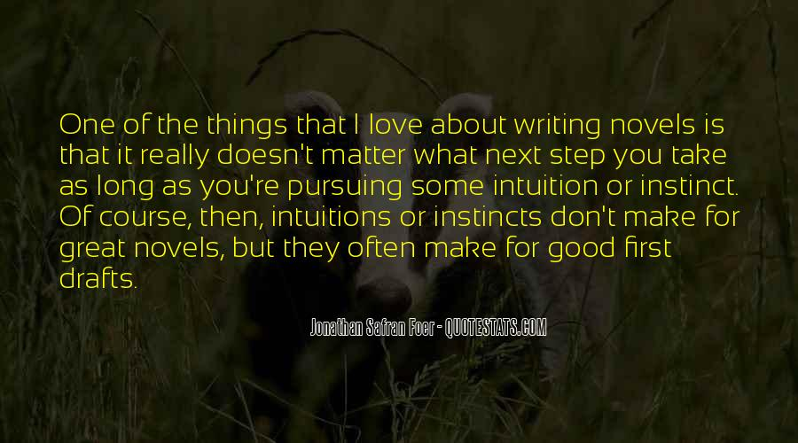 Quotes About Great Novels #806311