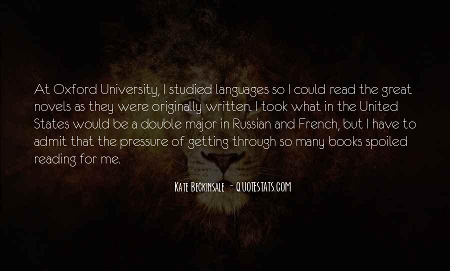 Quotes About Great Novels #835994