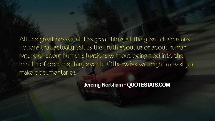 Quotes About Great Novels #843555