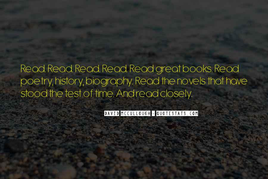 Quotes About Great Novels #848481