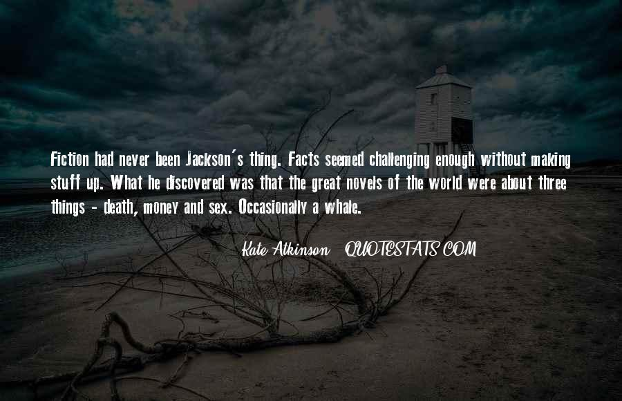 Quotes About Great Novels #898542