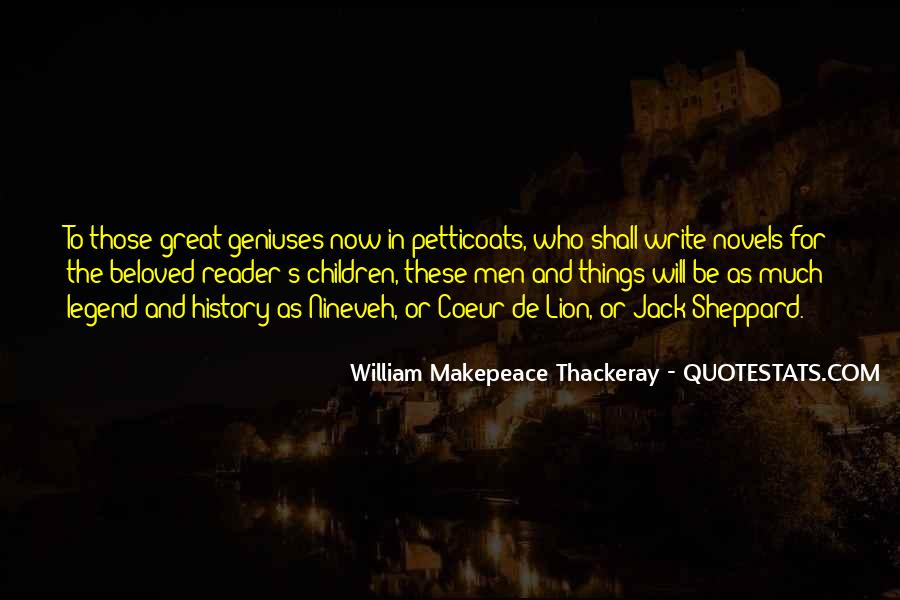 Quotes About Great Novels #993185