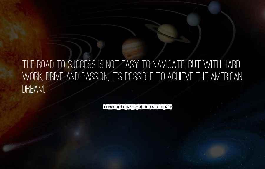 Quotes About Passion And Hard Work #1197167
