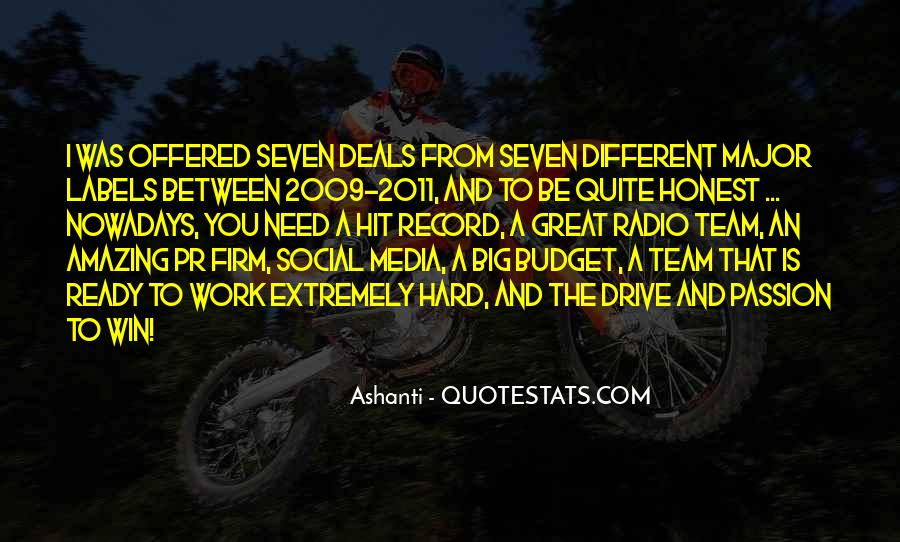 Quotes About Passion And Hard Work #741070