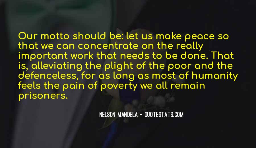 Quotes About Alleviating Poverty #1583923