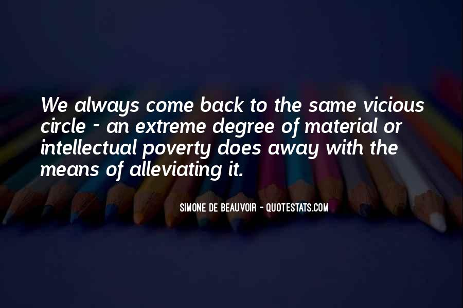 Quotes About Alleviating Poverty #1680842