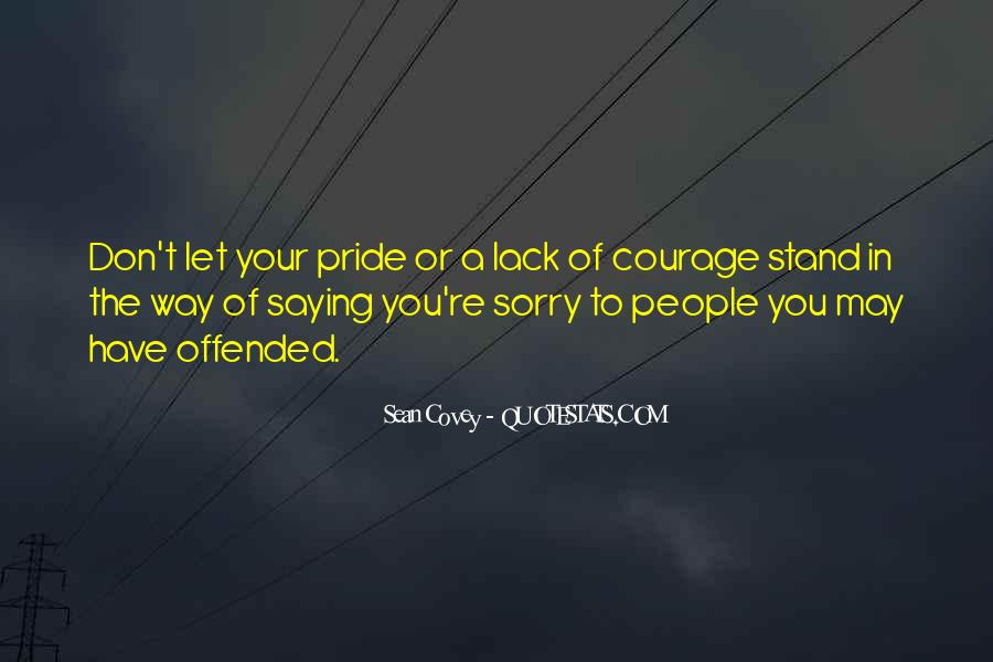 Quotes About Saying Your Sorry #624806