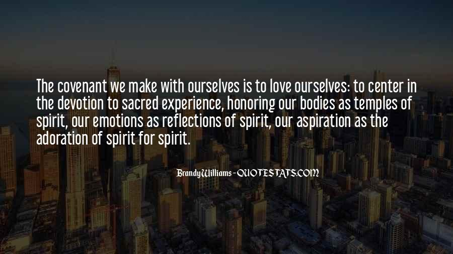 Quotes About Our Reflections #531600