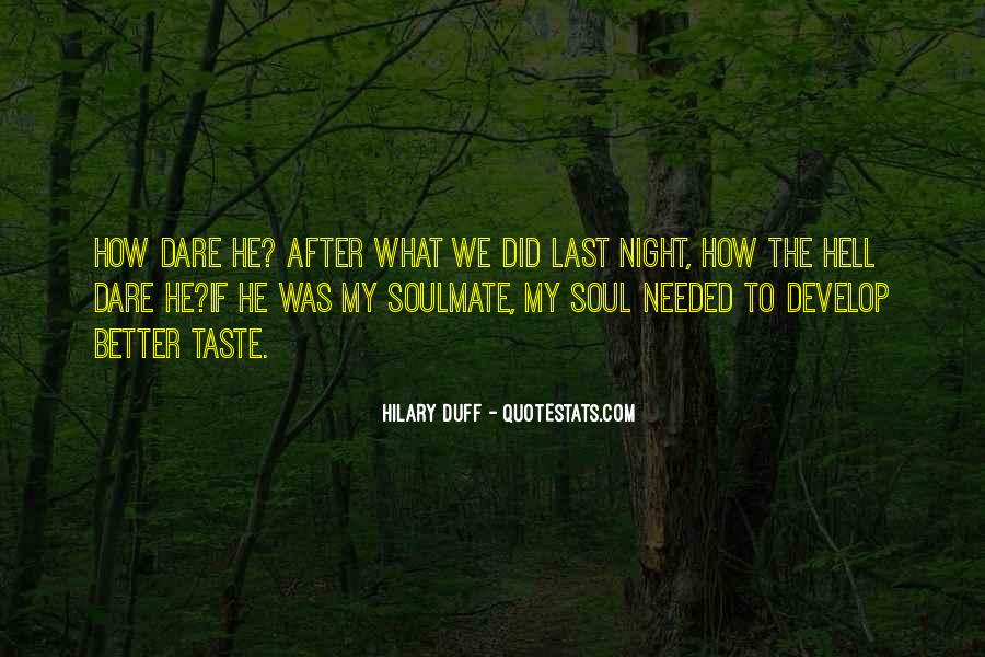 Quotes About Soulmate #41536