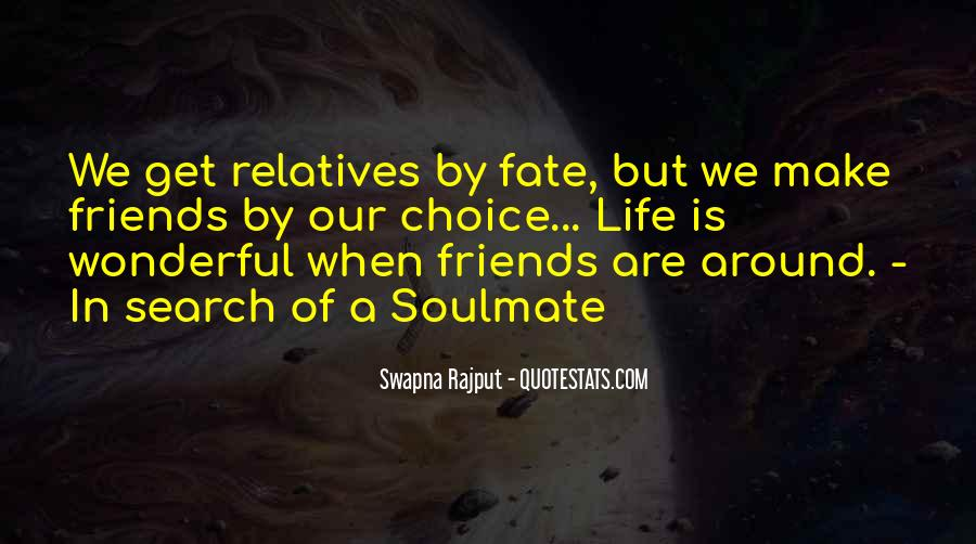 Quotes About Soulmate #653782