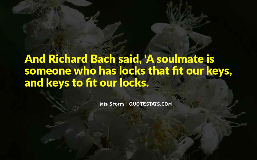 Quotes About Soulmate #71980