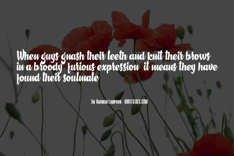 Quotes About Soulmate #79145