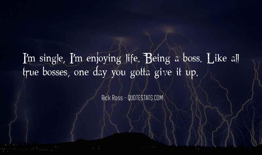 Quotes About Being My Own Boss #861402