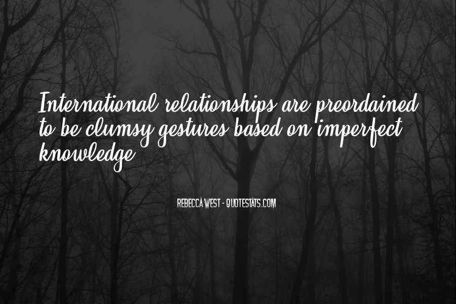 Quotes About Imperfect Relationships #573393