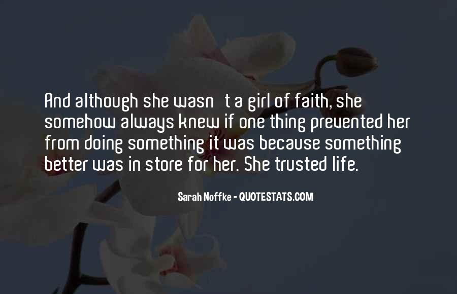 Quotes About A Girl And Her Life #1021777