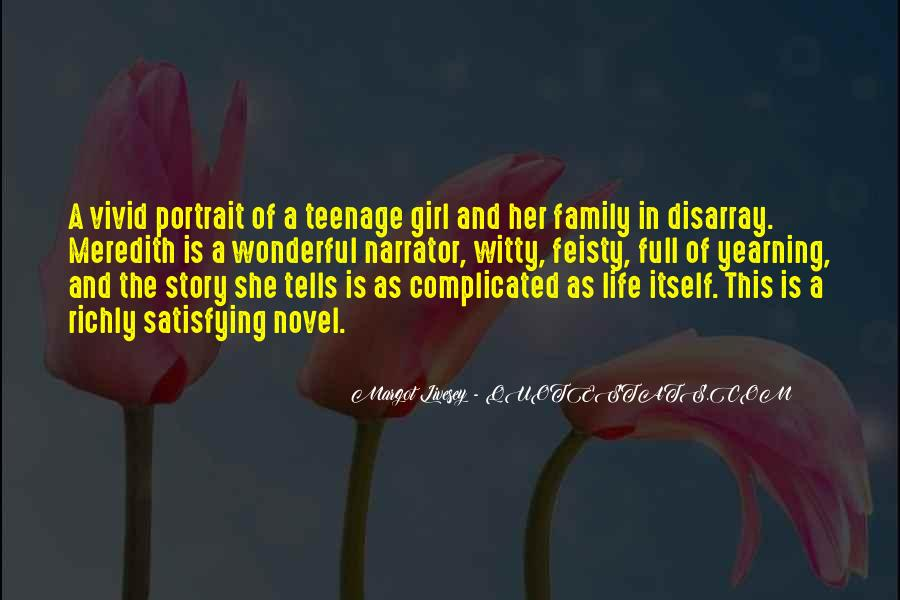 Quotes About A Girl And Her Life #1214380