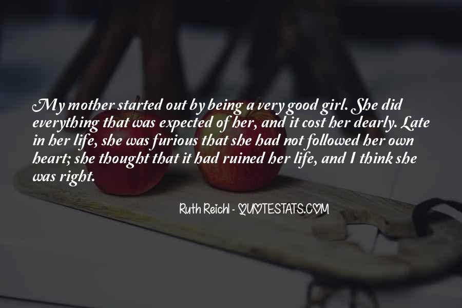Quotes About A Girl And Her Life #1264847