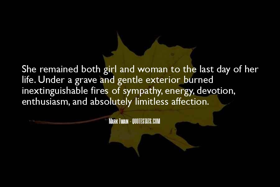 Quotes About A Girl And Her Life #1339493