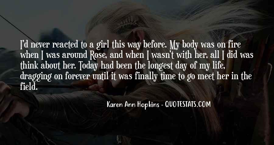 Quotes About A Girl And Her Life #1736845