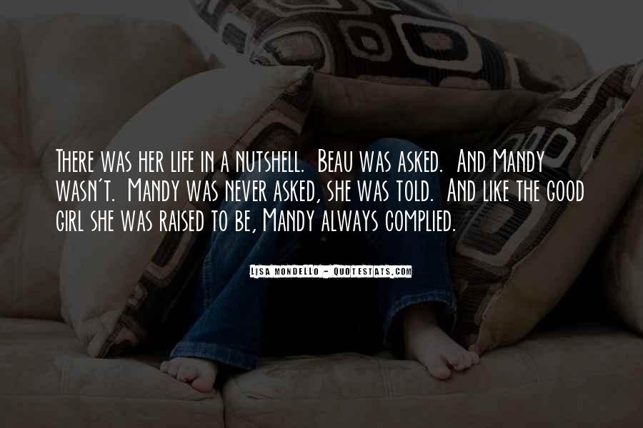 Quotes About A Girl And Her Life #798429