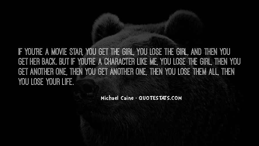 Quotes About A Girl And Her Life #91445