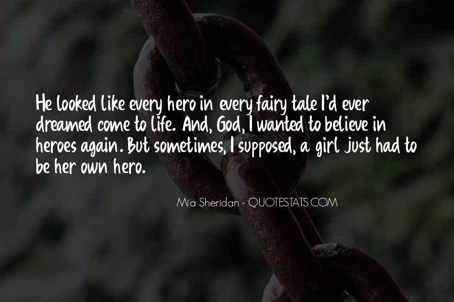 Quotes About A Girl And Her Life #95825