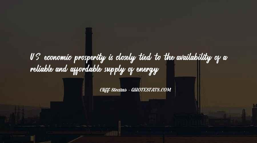 Quotes About Supply #169347