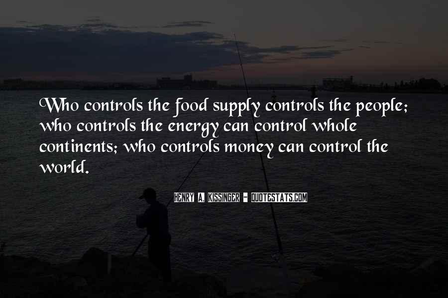 Quotes About Supply #174035