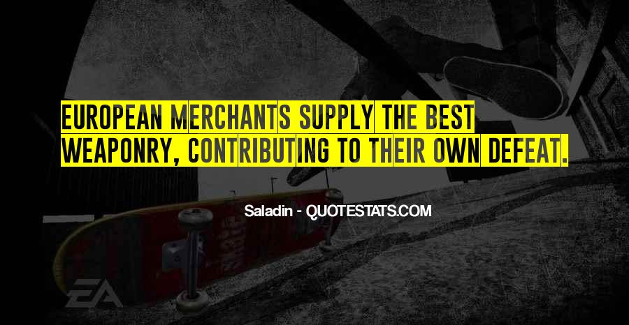 Quotes About Supply #175070