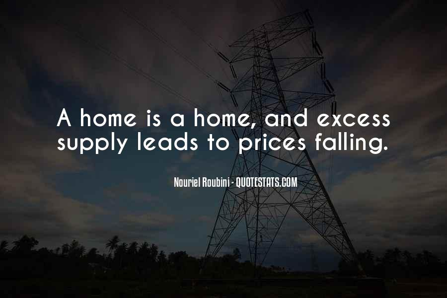 Quotes About Supply #47677