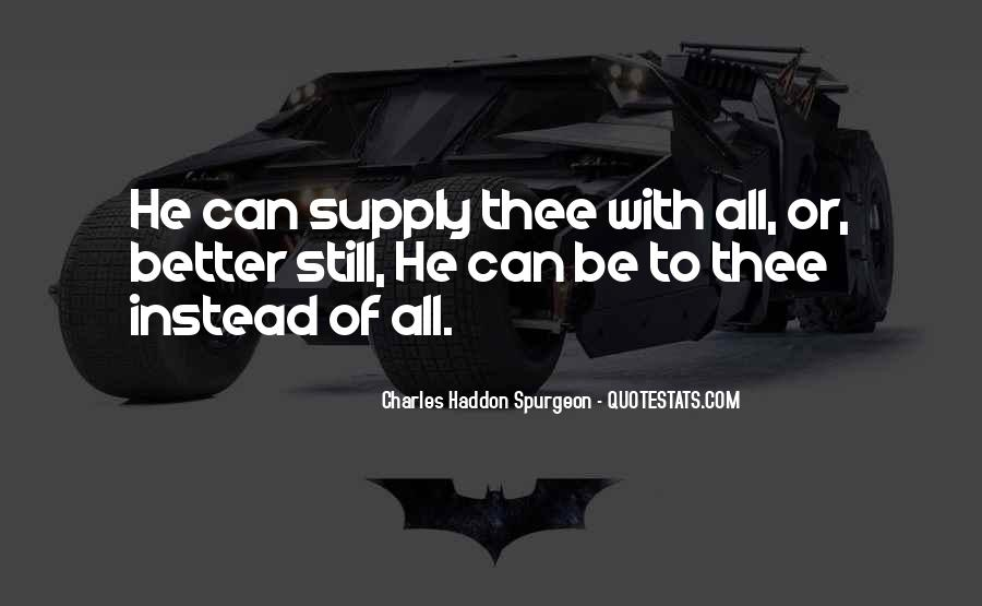 Quotes About Supply #81981