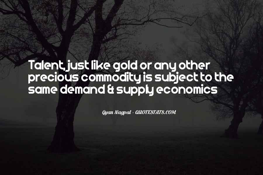 Quotes About Supply #89343