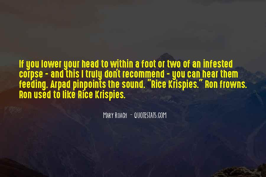 Quotes About Rice Krispies #971332
