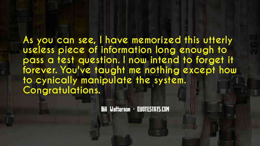 Quotes About Tests Taking #1130526