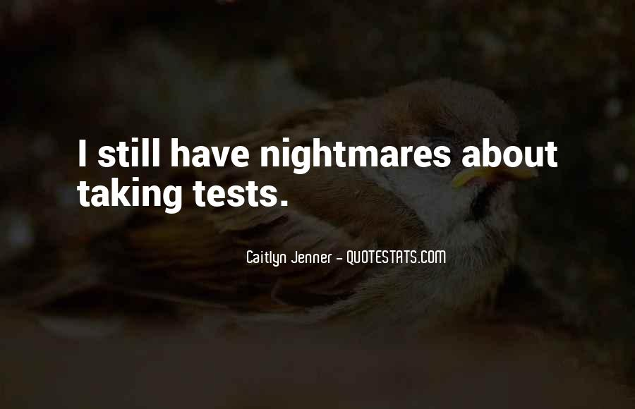 Quotes About Tests Taking #315217