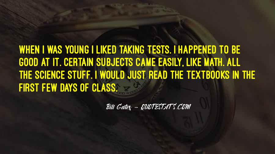 Quotes About Tests Taking #612160