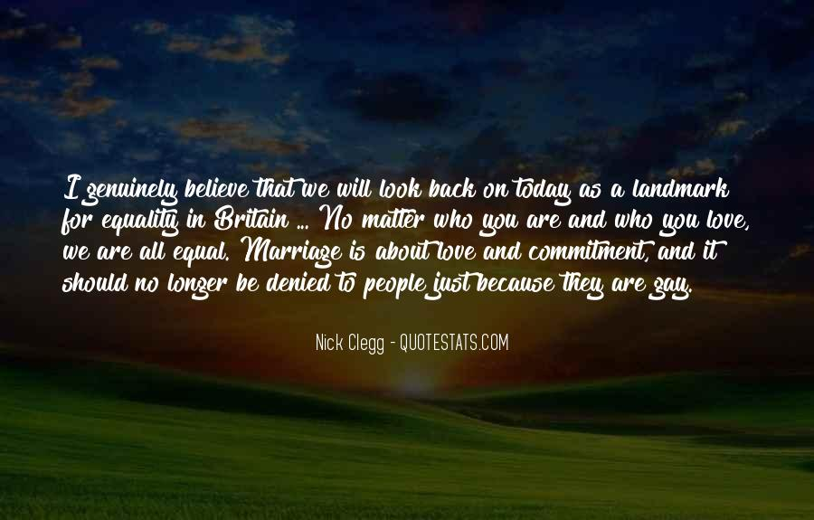 Quotes About Commitment In Marriage #1001523