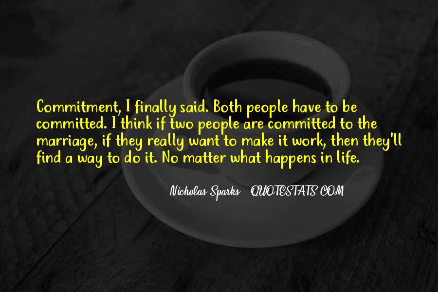 Quotes About Commitment In Marriage #1191650