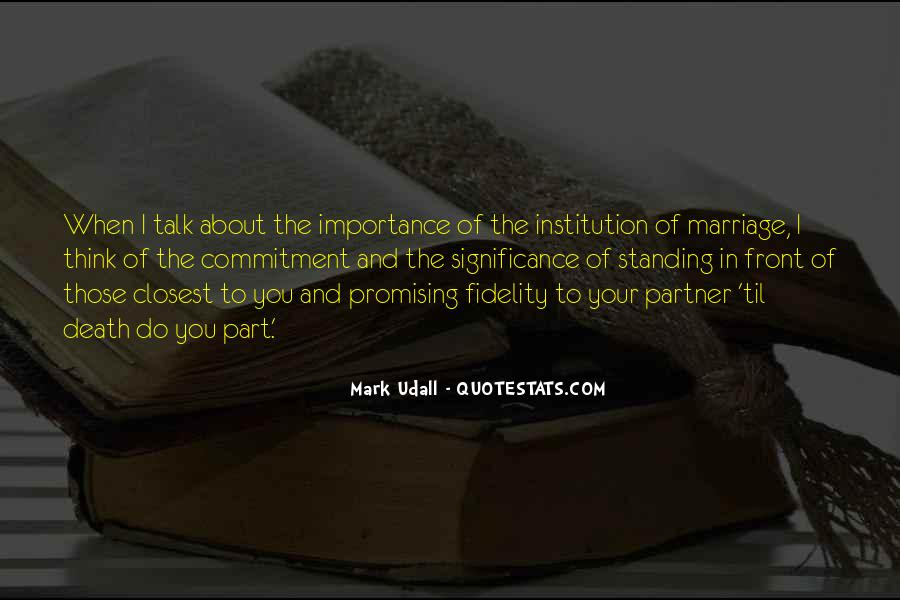 Quotes About Commitment In Marriage #1415898
