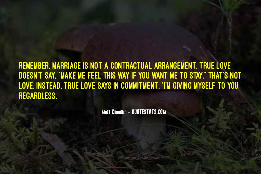 Quotes About Commitment In Marriage #1687630