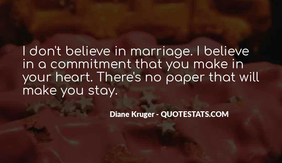 Quotes About Commitment In Marriage #1723249