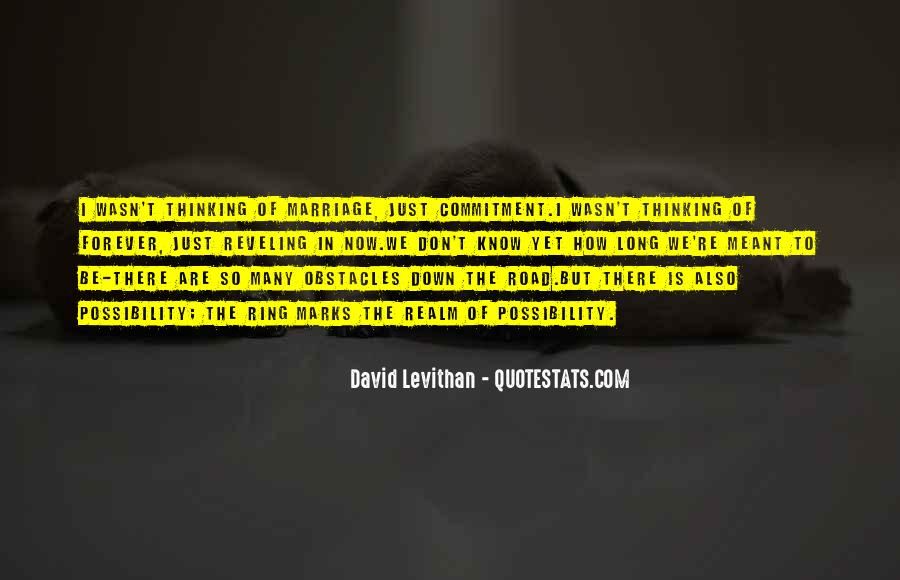 Quotes About Commitment In Marriage #198020