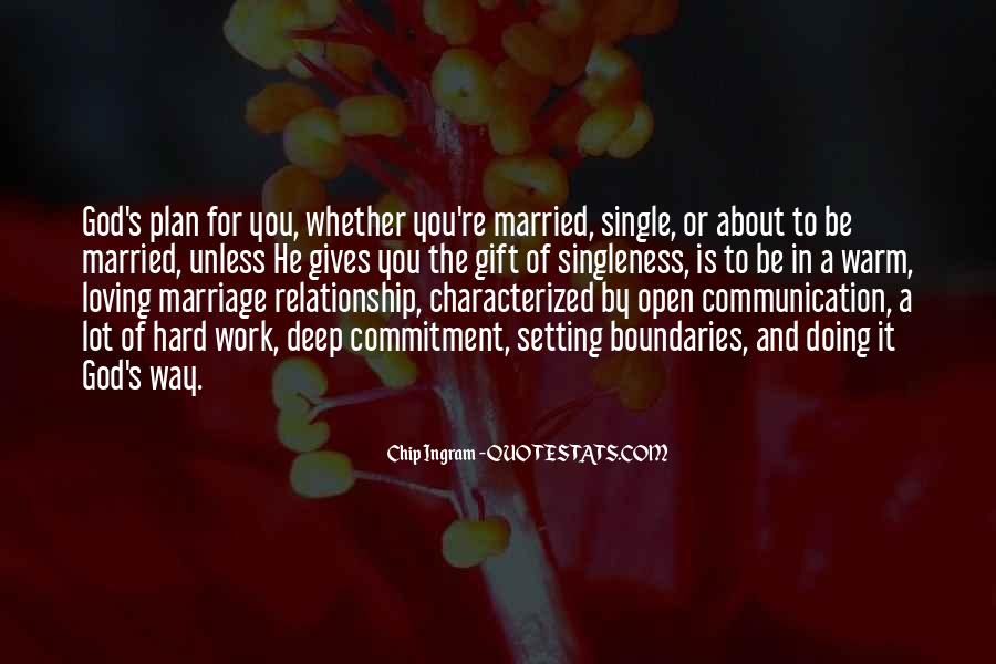 Quotes About Commitment In Marriage #906335