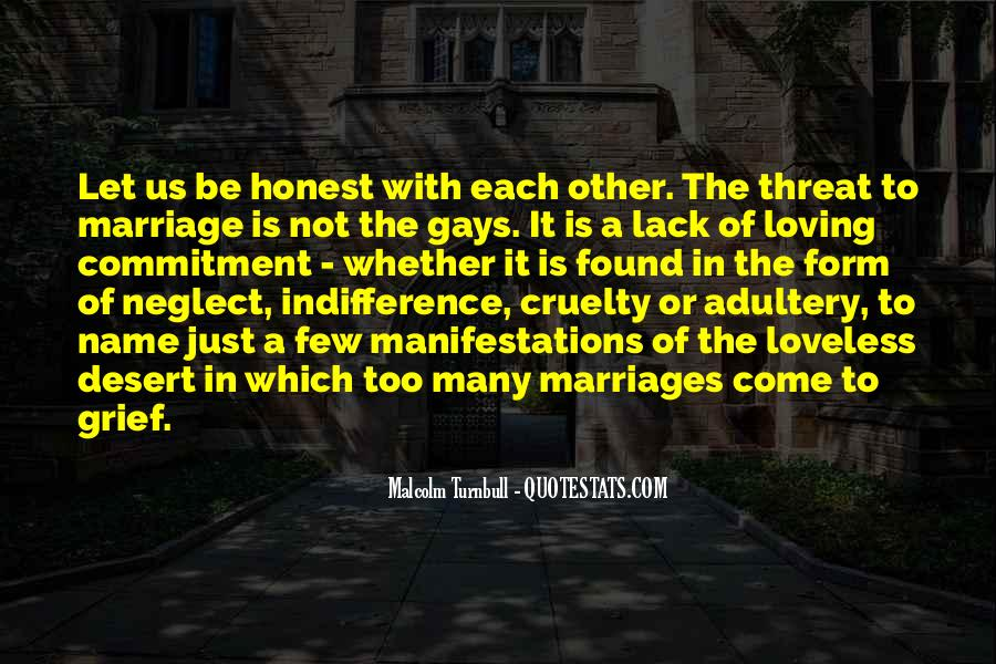 Quotes About Commitment In Marriage #990116