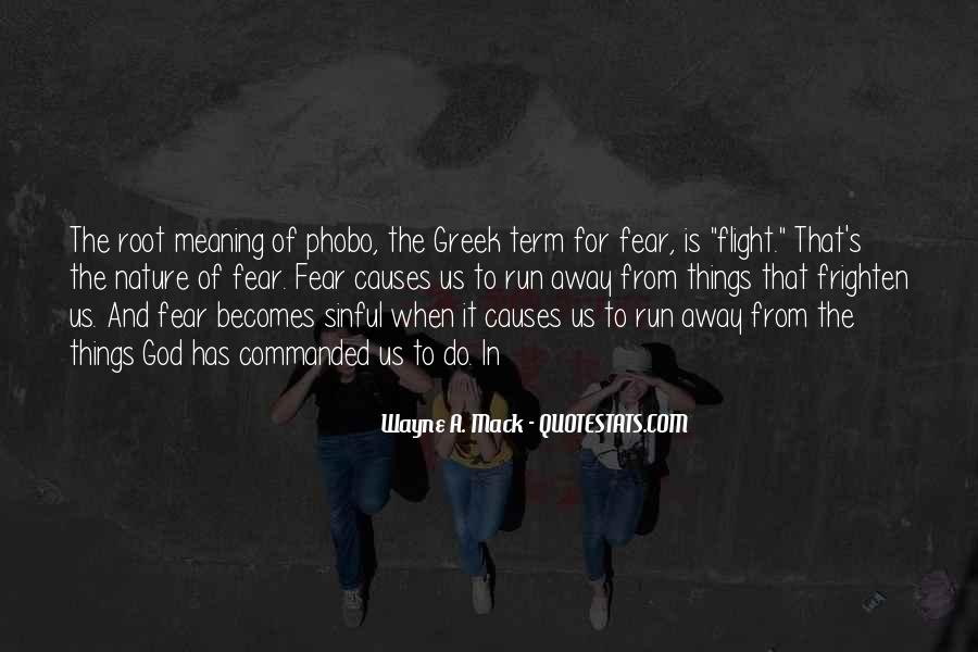Quotes About Fear And God #126212
